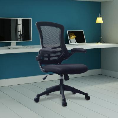 Saffron Executive Mesh Task Chairs Black Mood View