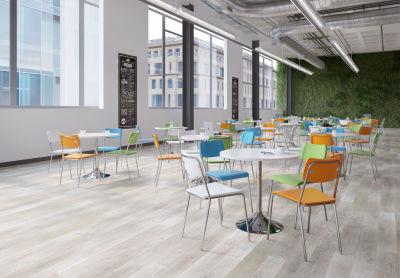 Saffron Executive Mesh Task Chairs Blue Mood View