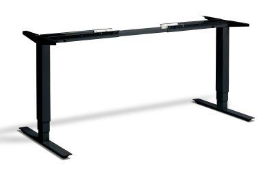 Swift Plus Height Adjustable Desk Frame And Control Black