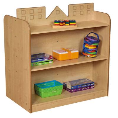 Celet Cityscape Bookcase - Playhouse Storage View