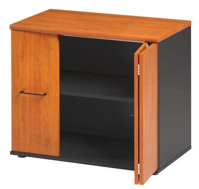 Jazz Low Cupboard With Folding Doors Alder Folded View