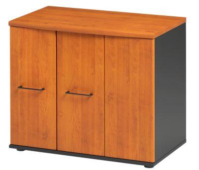 Jazz Low Cupboard With Folding Doors Alder
