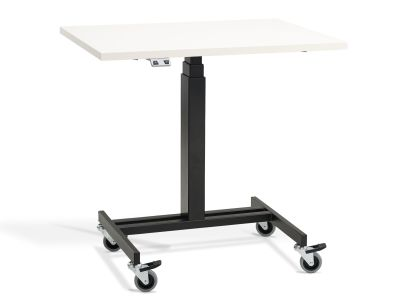 Swift Electric Height Adjustable Mobile Table