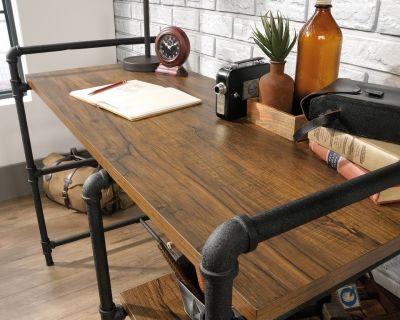 Foundry Desk Detail Shot 1