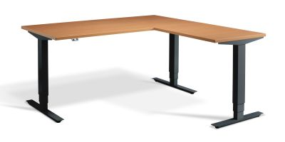 Swift Plus Height Adjustable Corner Desks