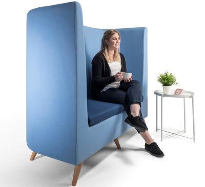 Ente Sofa Blue In Scene