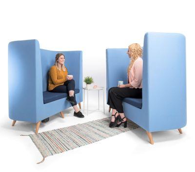 Ente Sofa Blue Set In Scene