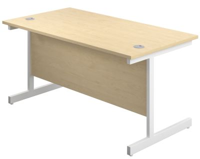 Abacus 1800mm X 600m Deep Desk In Maple