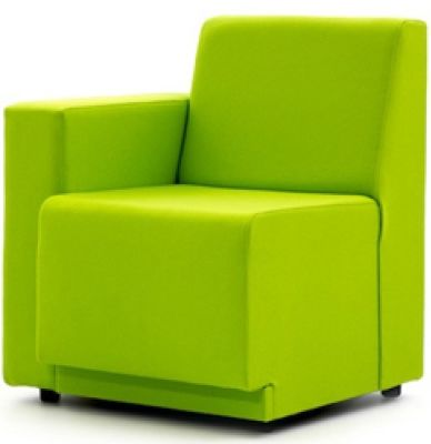 Single Sofa With Right Hand Arm