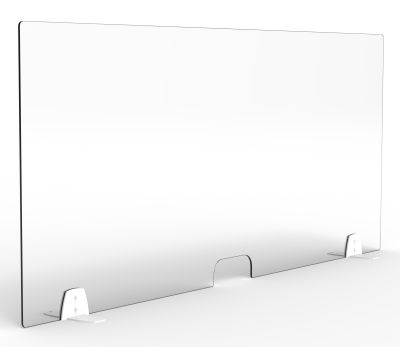 VProtection Healthcare Desk Screens Single