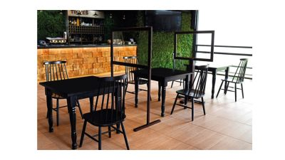 Orion Wooden Dining Screens Mood