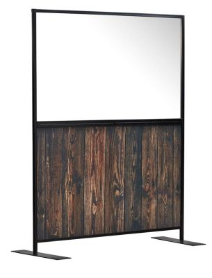 Armour Express Rustic/Clear Stock Hospitality Screen