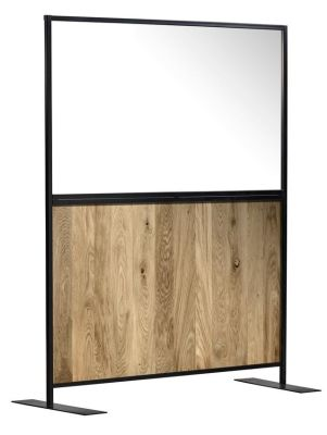 Armour Express Oak/Clear Stock Hospitality Screen
