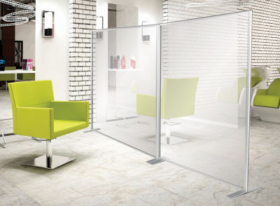 Orion Protection Freestanding Antibacterial And Glass Screens 1