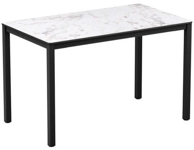 Rectangular Dining Height Hpl Table Extreme White Marble Online Reality