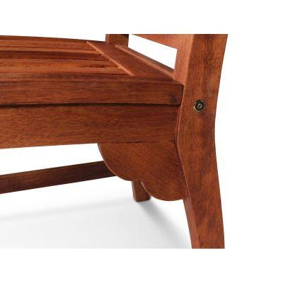 Dartmoor Six Person Bench Set Chair Detail