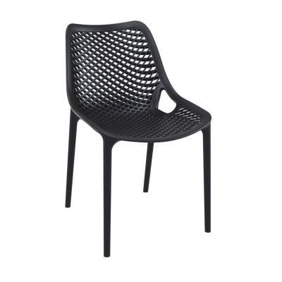 Onda Outdoor Dining Chairs Black