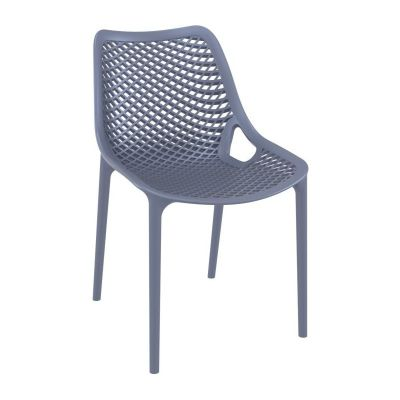 Onda Outdoor Dining Chairs Grey