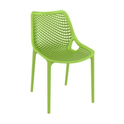 Onda Outdoor Dining Chairs Lime Green