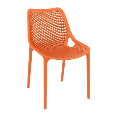 Onda Outdoor Dining Chairs Orange