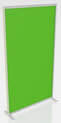 Orion Protection Freestanding Transparent Glass Or Acrylic Screens Green