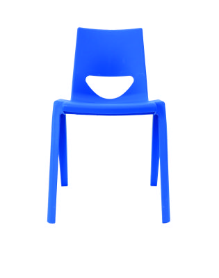 Royal Blue Chair Front View