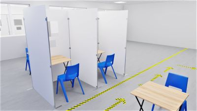 Sid Testing & Vaccination Booths
