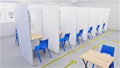 Sid Testing & Vaccination Booth 3